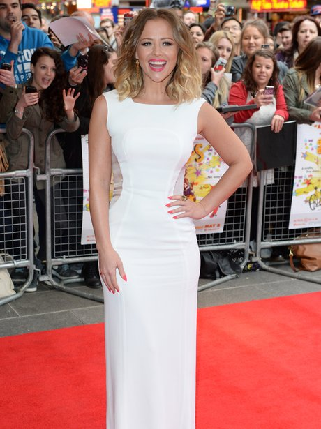 Kimberley Walsh on the red carpet
