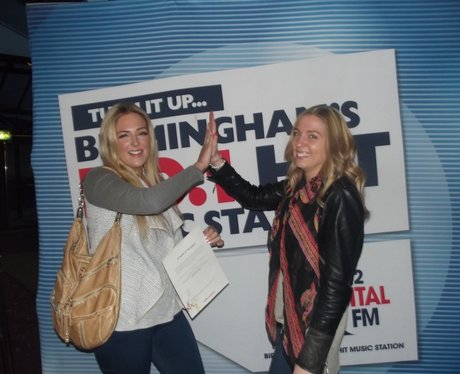 Our Street Stars were giving away Nando's vouchers