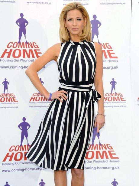 Sarah Harding at Coming Home event