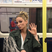 Image 7: Sarah Harding on the tube