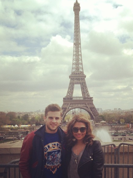 Vanessa White and her boyfriend