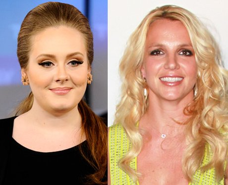 Adele and Britney Spears