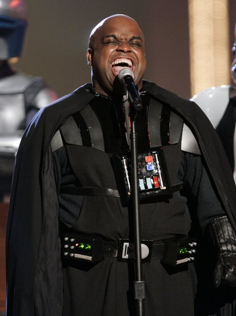 Gnarls Barkley dressed as Star Wars character