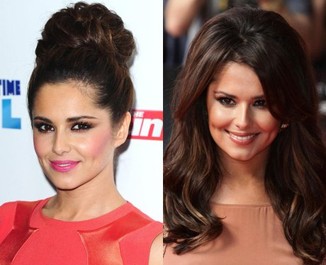 Cheryl Cole Hair: Up Or Down?