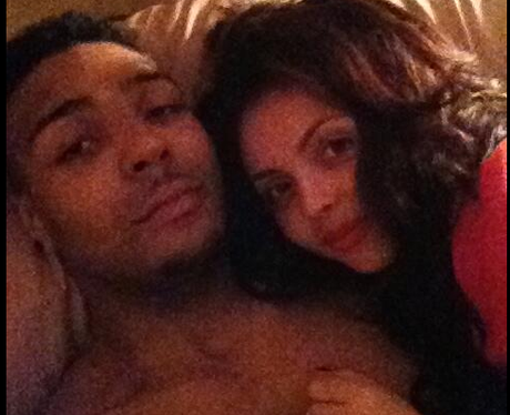 Jessie Nelson and boyfriend in bed