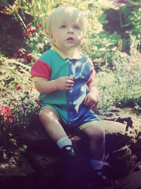 Joel Peat Baby Picture