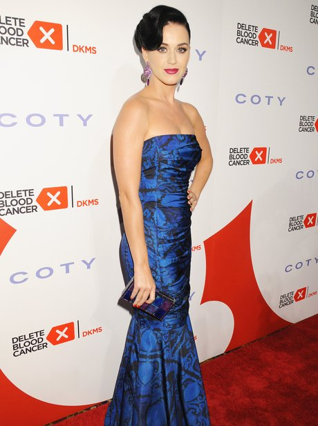 Katy Perry attends the 2013 Delete Blood Cancer Ga