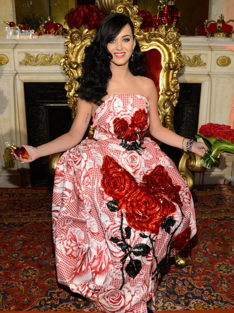 Katy Perry at his perfume launch