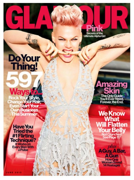 Pink Glamour Magazine May 2013