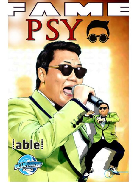 PSY Comic Book