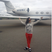 Image 7: Rihanna Private Jet Instagram