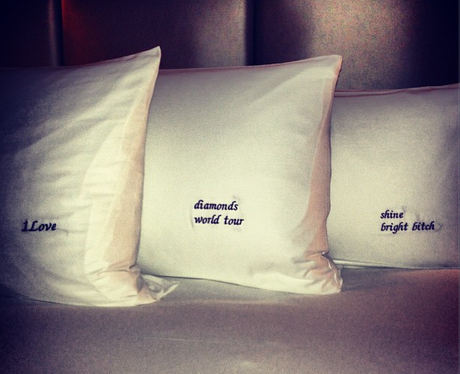 Rihanna Tour Cushions