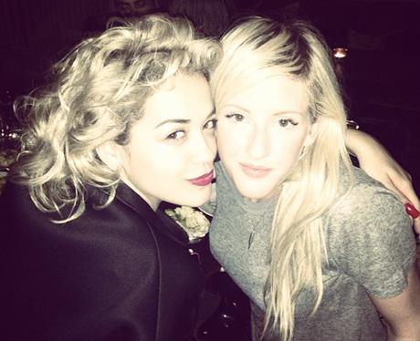 Rita Ora and Ellie Goulding together