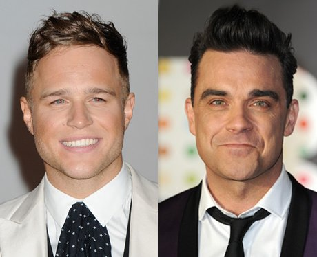 Robbie Williams and Olly Murs Mash-Ups