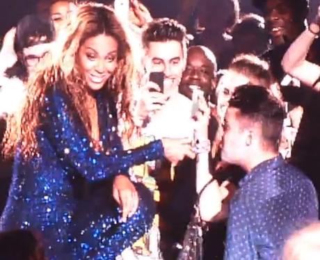 Beyonce and Joe McElderry