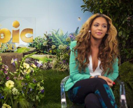 Beyonce at Epic press call