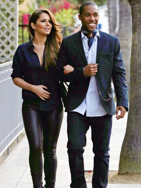 Cheryl Cole holding hands with Tre Holloway in New York