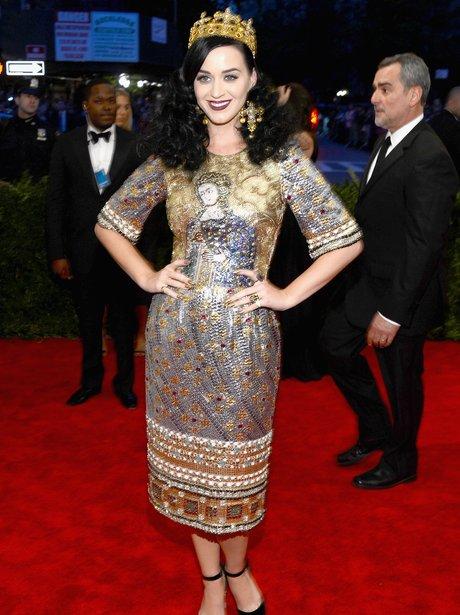 Katy Perry MET Ball 2013
