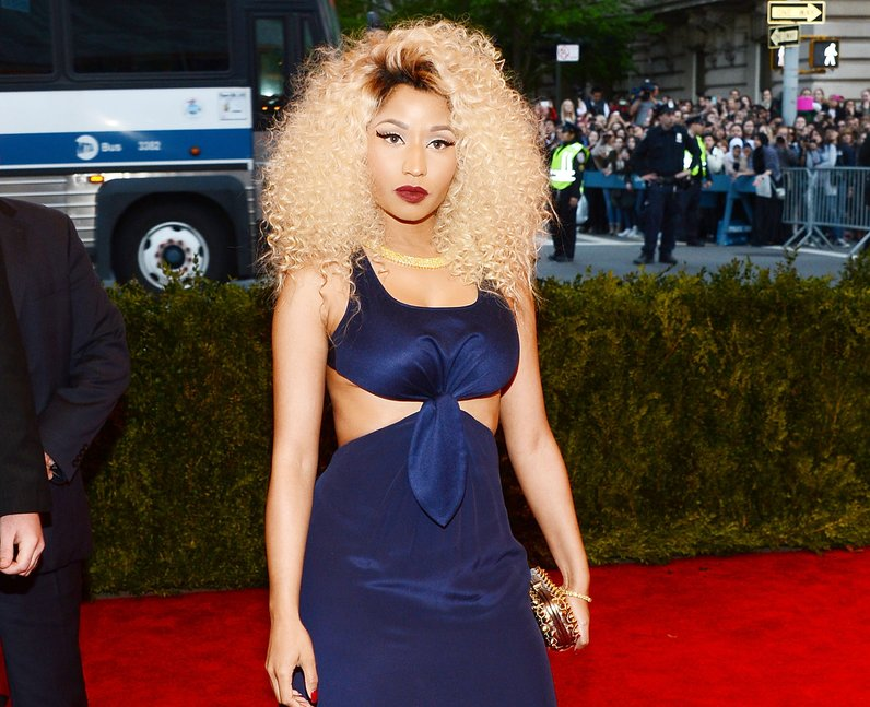 Nicki Minaj MET Ball 2013