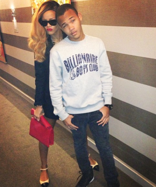 Rihanna Has Best Day Ever With Younger Brother Rajad Fresh From