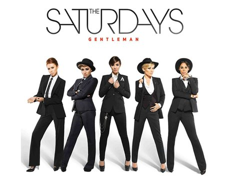 The Saturdays 'Gentleman'