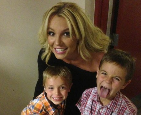 Britney Spears on twitter for Mothers Day