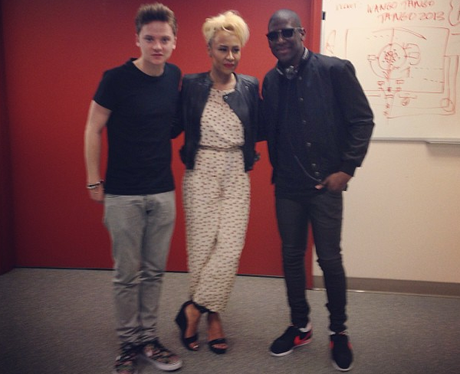 labrinth, emeli sande and conor maynard
