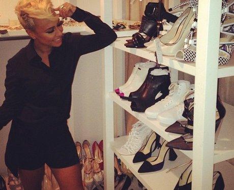 Emeli Sande goes shoe shopping in LA