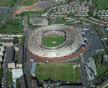 Artists impression of Hampden