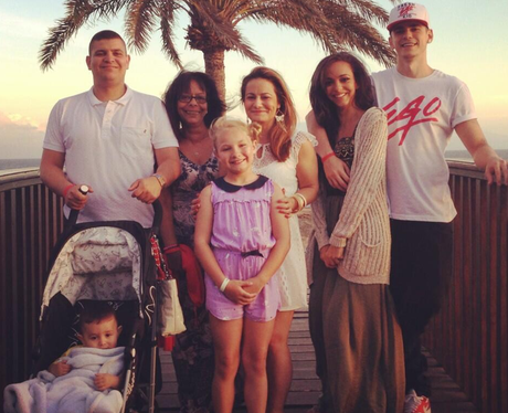 Jade Thirlwall and Family  Twitter