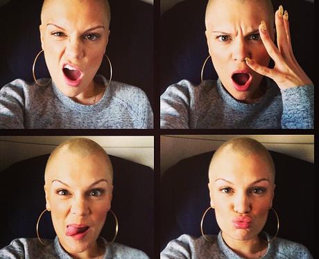 Jessie J selfie instagram
