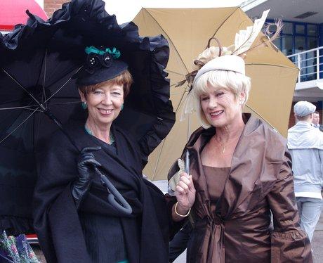 Ladies Day at Nottingham Racecourse