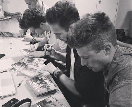 lawson signing albums