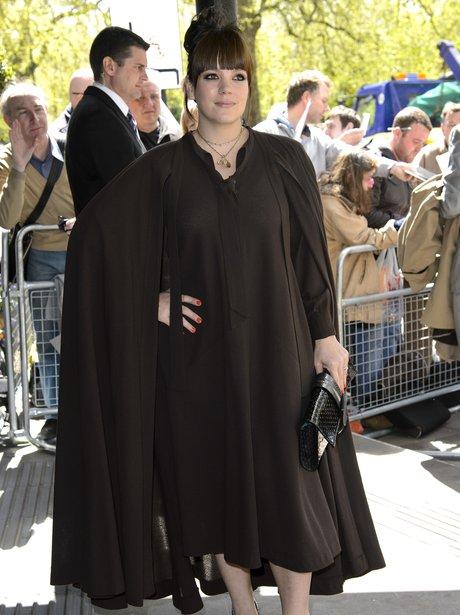 Lily Allen Ivor Novello Awards 2013
