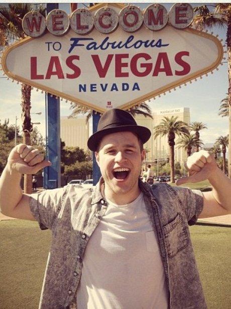 Olly Murs in Las Vegas