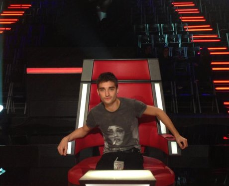 tom parker in the voice chair