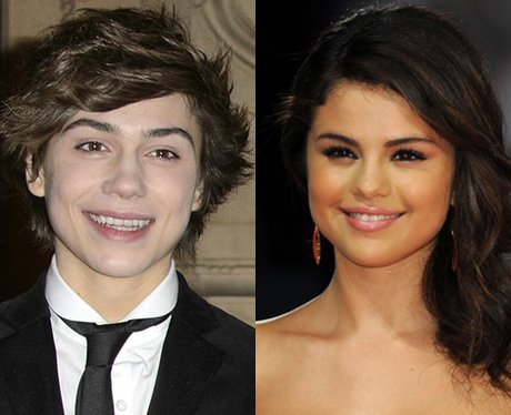Union J's George Shelly and Selena Gomez