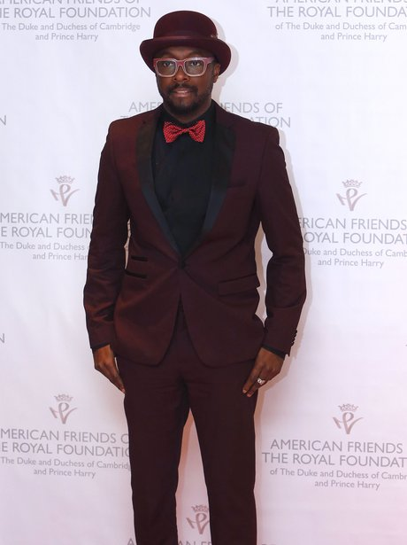 will.i.am arrives at a fundraiser for The Royal Foundation