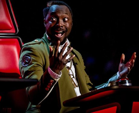 Will.i.am on The Voice 2013
