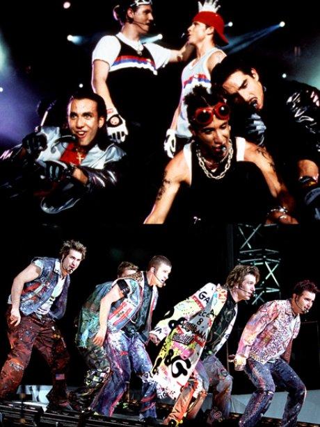 Backstreet Boys and N Sync