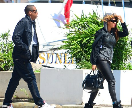 Beyonce and Jay-Z in St Tropez