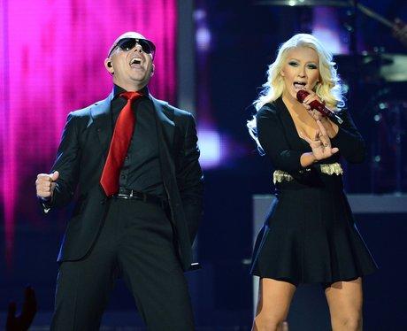 Christina Aguilera and Pitbull 2013 Billboard Music Awards