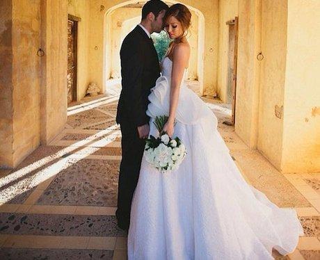 Example's wedding from Instagram