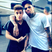 Image 6: Justin Bieber and Chris Brown with arms round each other