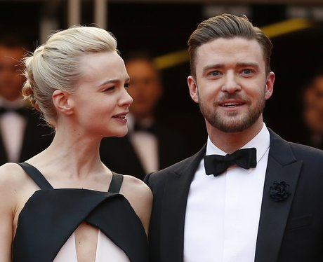 Justin Timberlake And Carey Mulligan at Cannes Festival