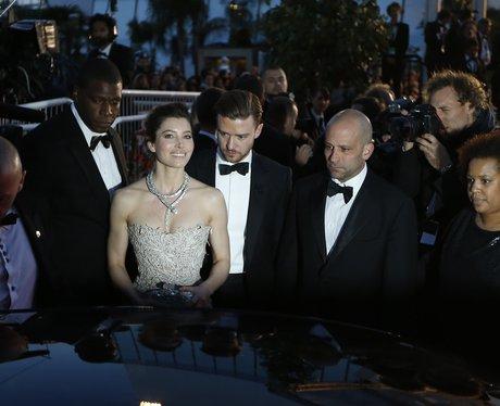 Justin Timberlake Jessica Biel Cannes 2013