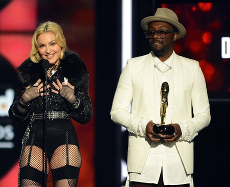 Madonna and Will.i.am 2013 Billboard Music Awards