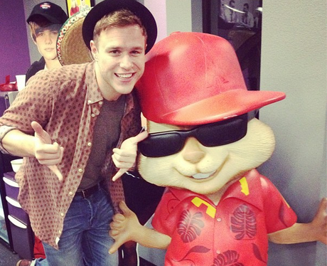 Olly Murs And Alvin And The Chipmunks