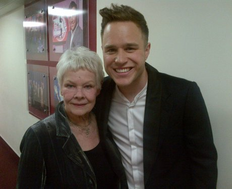 Olly Murs And Dame Judi Dench