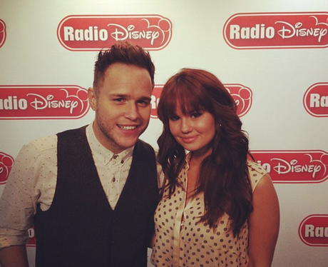 Olly Murs And Debby Ryan